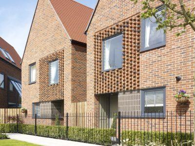 Brick houses, Horsted Park, Chatham, Kent